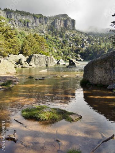 Laguna Negra en los Picos de Urbion. Soria