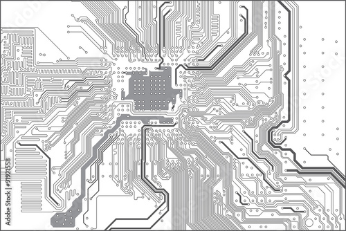printed circuit board pcb trace layout buy this stock. Black Bedroom Furniture Sets. Home Design Ideas
