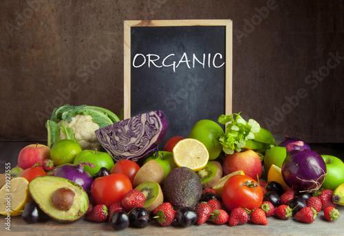 Fotografie, Obraz  Organic food