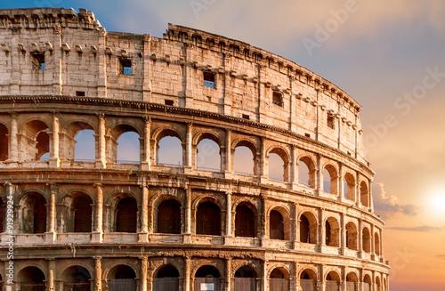 Obraz na płótnie Colosseum in Rome