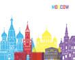 Moscow skyline pop
