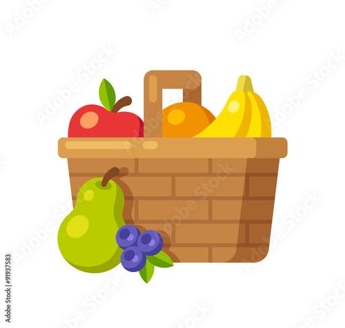 Fotografie, Obraz  Fruit basket