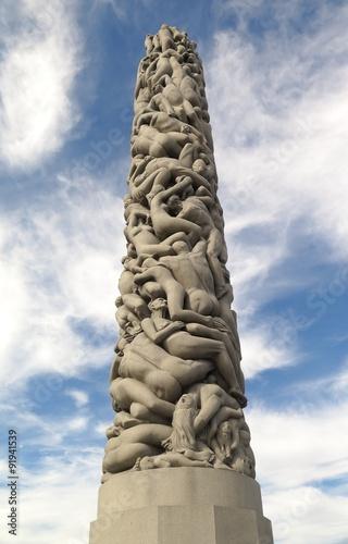 Photo  statues in Vigelandspark