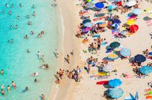 Drone View Of Tropea Beach, Ca...