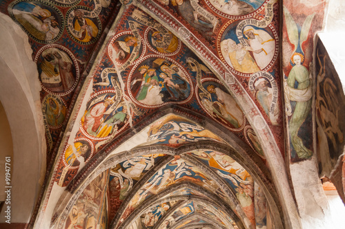 Fotografering  Antico chiostro, Alter Kreuzgang, Bressanone, Brixen, Bolzano, Trentino Alto Adi