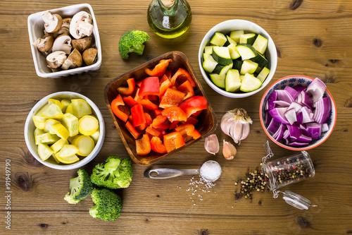 Fotografie, Obraz  Roasted vegetables