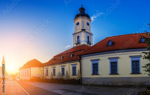 Obraz Muzeum Podlaskie w Białymstoku, Ratusz - fototapety do salonu