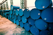 Industry Oil Barrels Or Chemic...