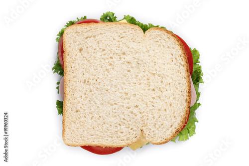 Staande foto Snack sandwiich