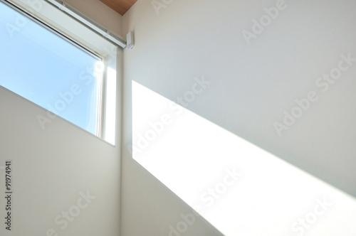 吹き抜け窓からの採光