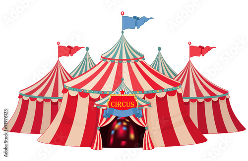 Canvas Prints Fairytale World Circus