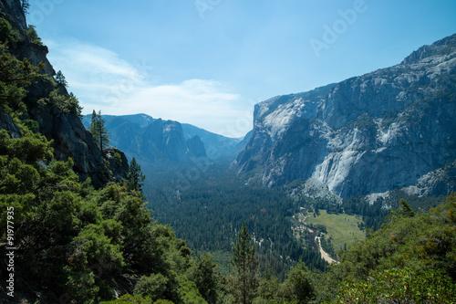 Photo  Yosemite Valley at Yosemite National Park landscape view summer vacation