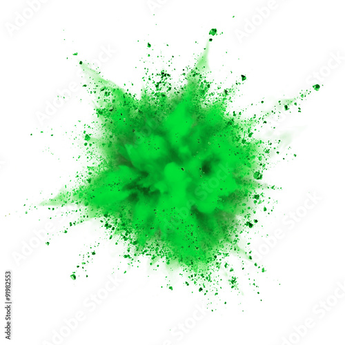 powder explosion Canvas-taulu