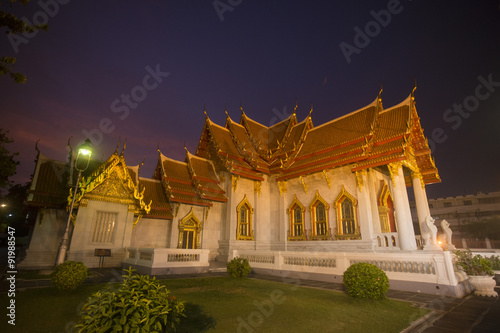 ASIA THAILAND BANGKOK WAT BENCHAMABOPHIT