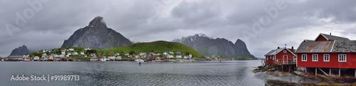 Garden Poster Scandinavia Norvège, îles Lofoten