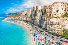 Tropea Panoramic View, Calabria, Italy.