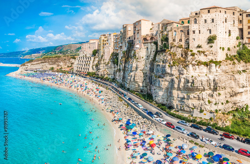 Tropea panoramic view, Calabria, Italy.