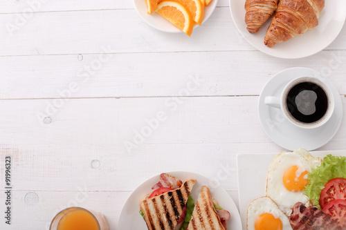 Obraz na plátně  Snídaně