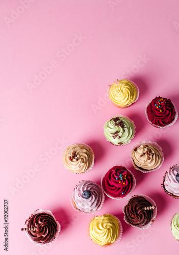Cupcake Wallpaper Mural
