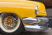 Dornbirn, Austrian, 12 June 2011: Front Detail Of Ford Thunderbi