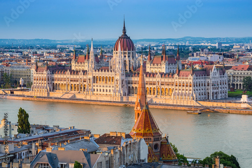 Photo Hungarian Parliament - Budapest - Hungary