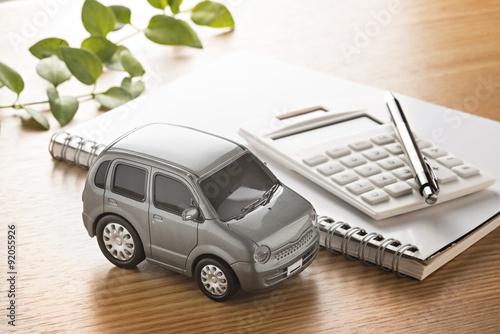 Fotografia, Obraz  自動車の購入