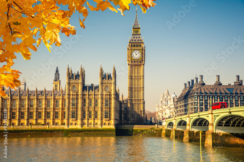 Fotografie, Tablou  Big Ben in London