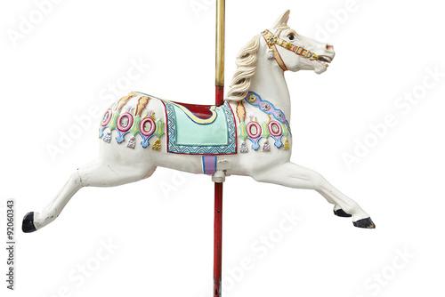 Fotografie, Obraz  A classic carousel horse