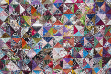 Colorful Crazy Quilt For Sale,...