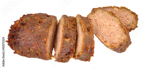 Photo  Cooked Meatloaf