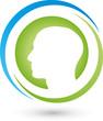 Gesicht, Kopf, Mensch, Person Logo