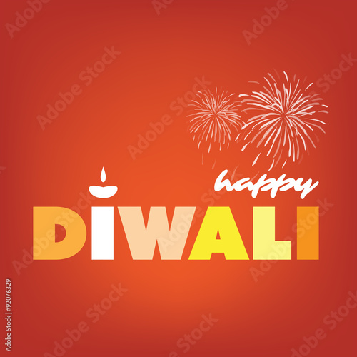 happy diwali card abstract greeting card or background creative design template