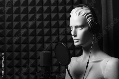Fotografia, Obraz  recording studio
