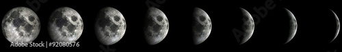 Foto op Plexiglas Nasa Moon Phases.Elements of this image furnished by NASA