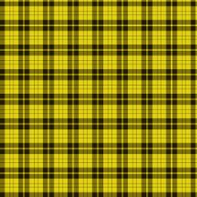 Yellow Tartan Background