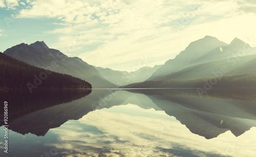Poster Gris Glacier Park