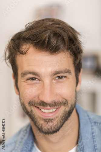 Poster  Portrait of handsome 30-year-old man
