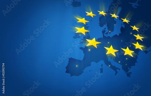 Obraz na plátně  Europe