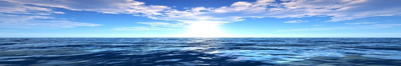 Fototapeta Optyczne powiększenie panorama of sea sunset