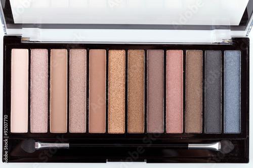 Obraz Colorful eyeshadow palette - fototapety do salonu