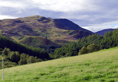 Scottish highland landscape - Meall nan Caorach, Perthshire