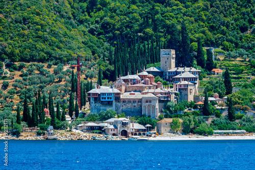Fotografie, Obraz  Dochiariou Monastery, Mount Athos
