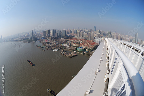 Panorama of Shanghai Poster