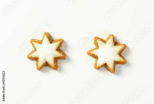 Cinnamon Star Cookies Buy This Stock Photo And Explore Similar