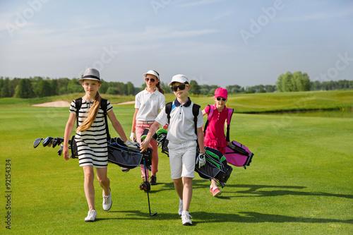 Poster Golf golf school