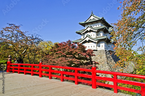Photo Hirosaki Castle in Japan.