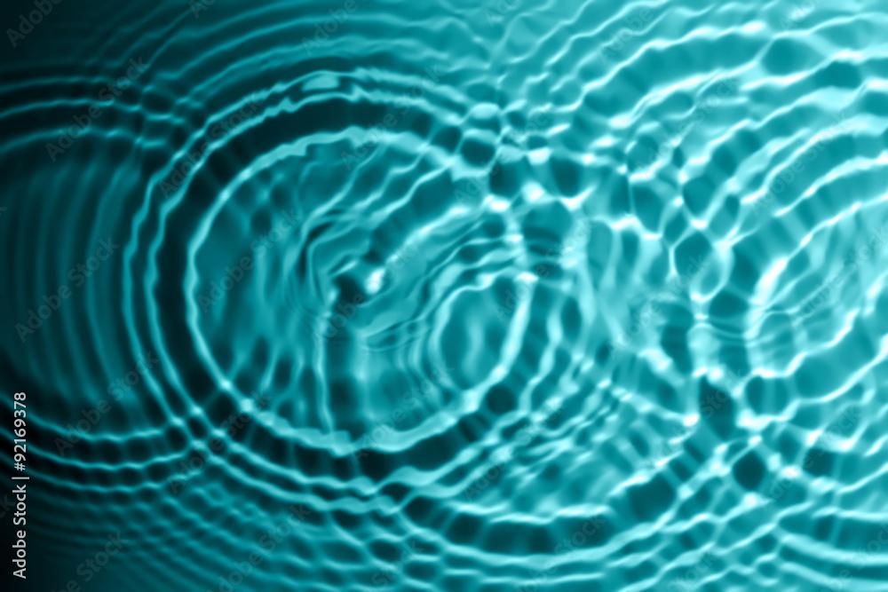 Fototapeta Circles on water