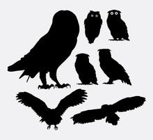 Owl Bird Silhouettes. Good Use...