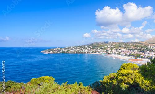 Valokuva  Summer landscape of Mediterranean sea coast