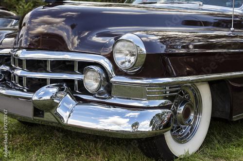 Fotografie, Obraz  Emmering, Německo, 19 září 2015: Cadillac Fleetwood vinobraní
